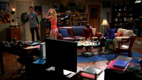 Talisman on The Big Bang Theory!