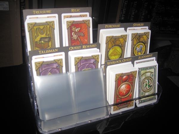 Using Business Card Holders For Smaller Decks Talisman Home Brews