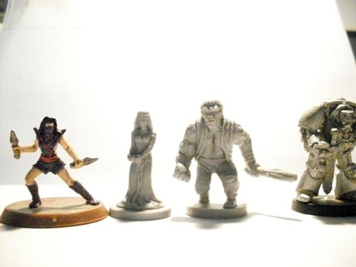 Revised Edition Mini Comparison