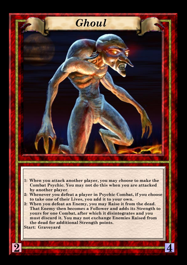 proposed character card redesign for talisman 2nd edition