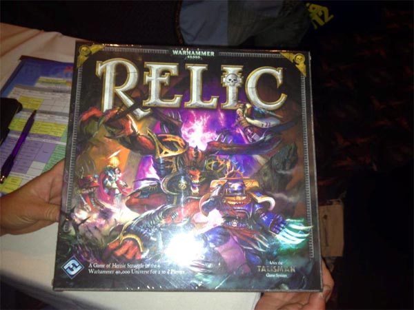 Relic at GAMA 2012