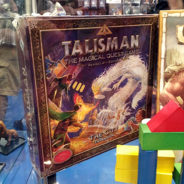 Talisman: The City!