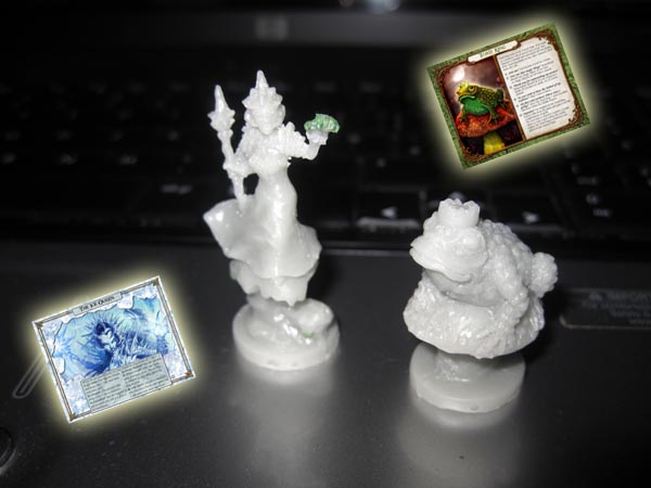 Resin King and Queen