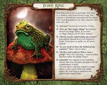 Mr Brogger s Toad King...