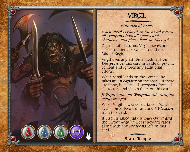 Talisman avenger legacy the beast of Wicker Man