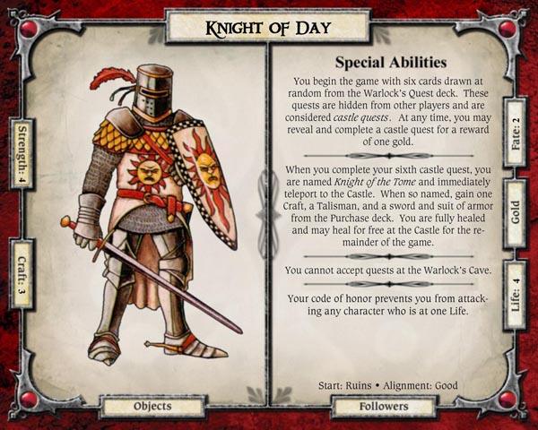 The Knight of Day
