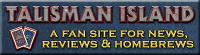 Site banner for Talisman Island