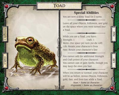 Toad Card