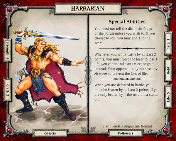 heroquest barbarian - an easy recipe