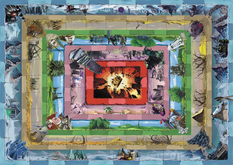 Talisman Board Game Art